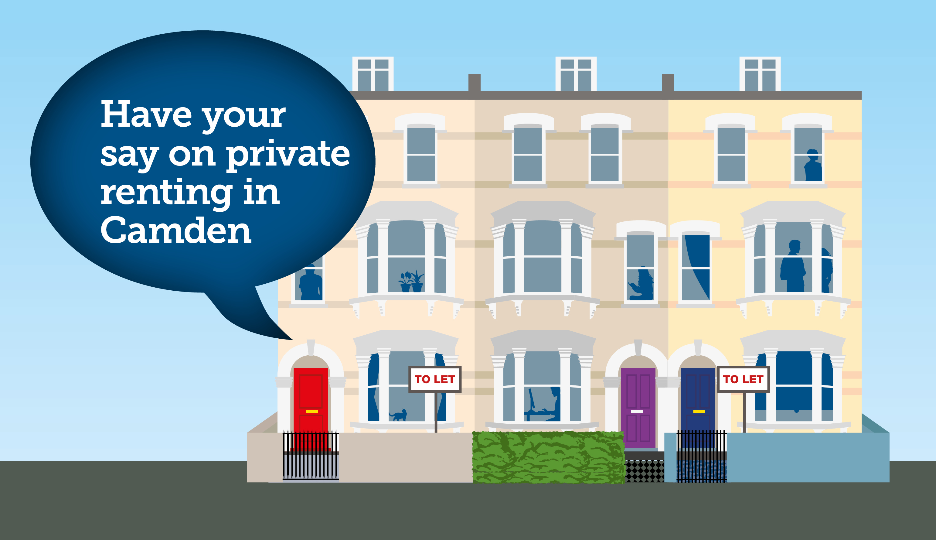 Have your say on private renting in Camden