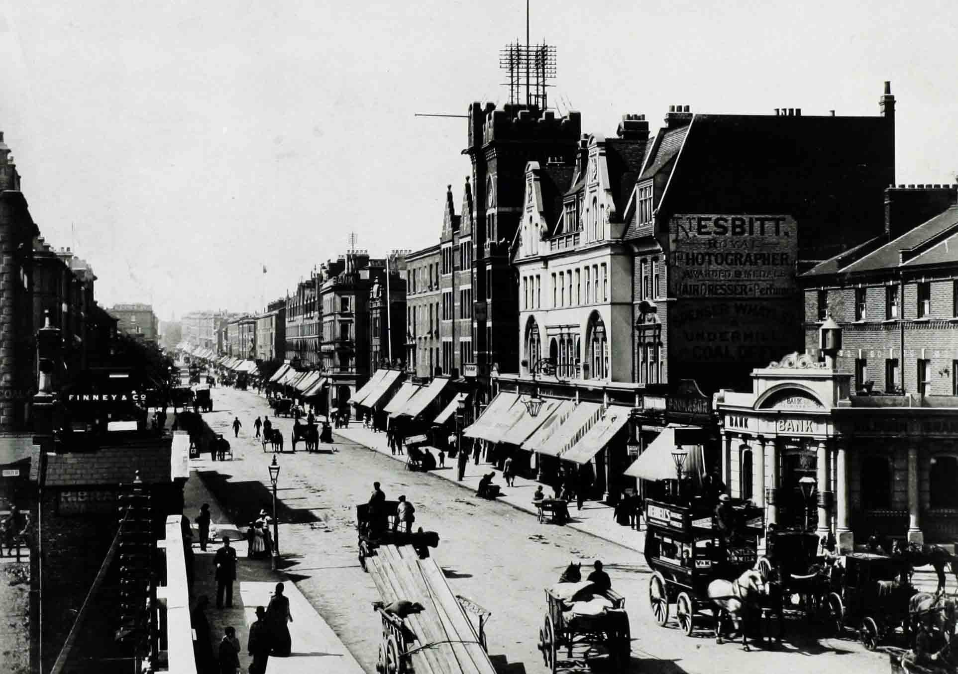 Kilburn High Road around 1890