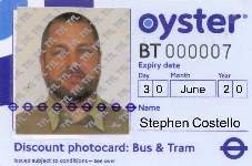 Bus and Tram Discount photocard