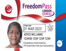 Older Persons' Freedom Pass (OPFP)