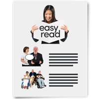 picture of easy read document