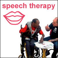 leaflet for speech therapy