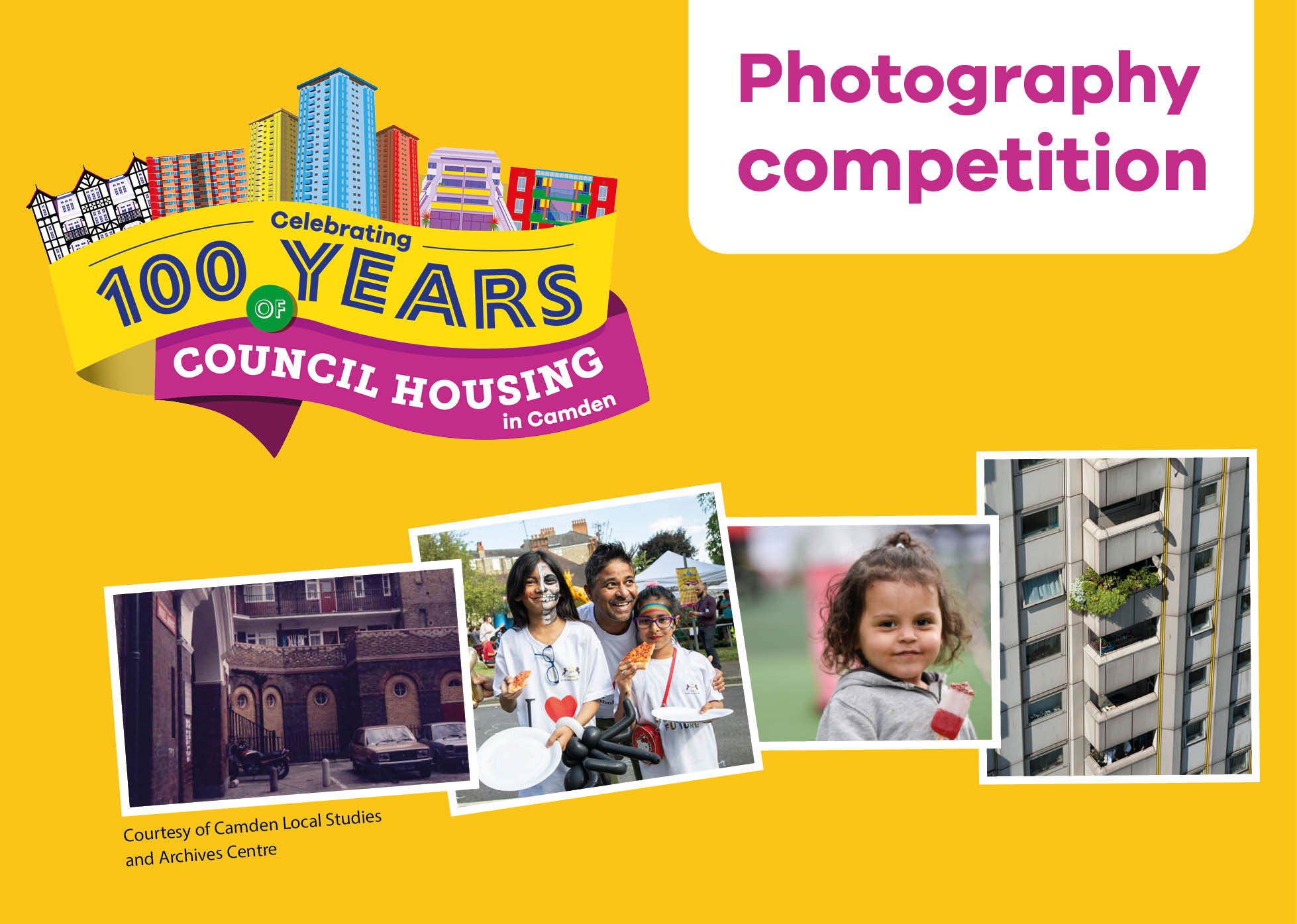 100 years of council housing photography competition