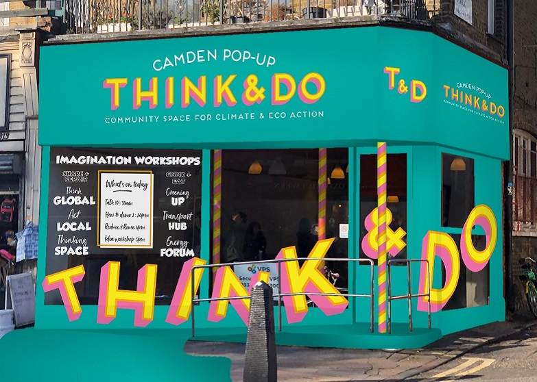 Think & Do pop-up