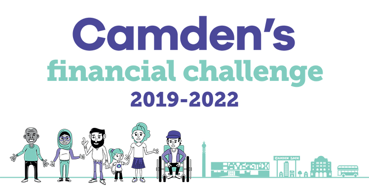 Camden's financial challenge 2019 to 2022