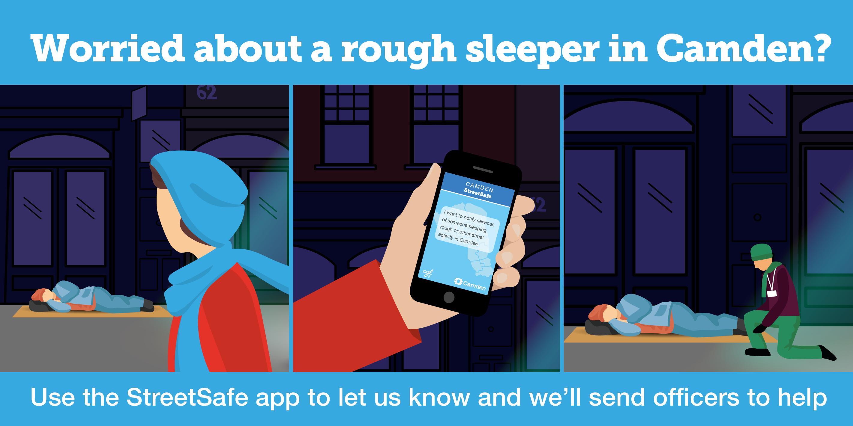 StreetSafe app web banner