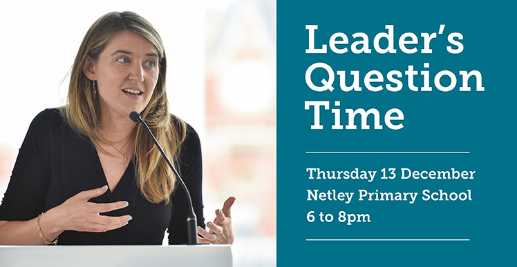 Camden's first Leader's Question Time